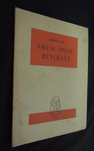 náhled knihy - Smysl dvou revolucí : Dva dny z rozmezí českých dějin