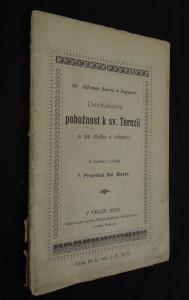 náhled knihy - Sv. Alfonsa Maria z Liguori Devítidenní pobožnost k sv. Terezii a za duše v očistci