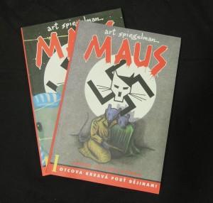 náhled knihy - Maus I. a II.