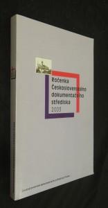 náhled knihy - Ročenka Československého dokumentačního střediska 2003