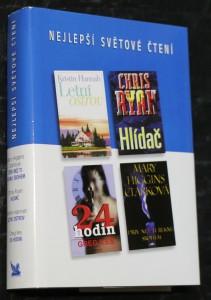 náhled knihy - Dřív než ti řeknu sbohem, Hlídač, Letní ostrov, 24 hodin