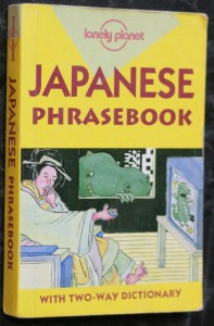 náhled knihy - Japanese phrasebook