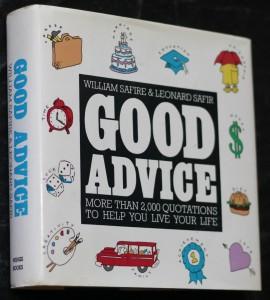 náhled knihy - Good advice