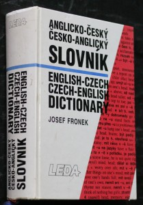náhled knihy - Anglicko-český, česko-anglický slovník = English-Czech, Czech-English dictionary
