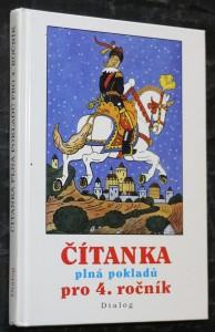 náhled knihy - Čítanka plná pokladů : školní rok ve zvěrokruhu : výběrové texty pro 4. třídu základní školy