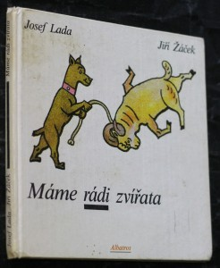 náhled knihy - Máme rádi zvířata