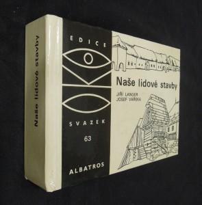 náhled knihy - Naše lidové stavby : pro čtenáře od 12 let