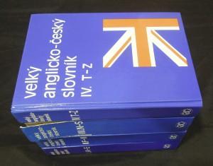 náhled knihy - Velký anglicko-český slovník = English-Czech Dictionary