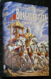 náhled knihy - Bhagavad-gītā taková, jaká je : s původními sanskrtskými texty, přepisem do latinského písma, českými synonymy, překlady a podrobnými výklady