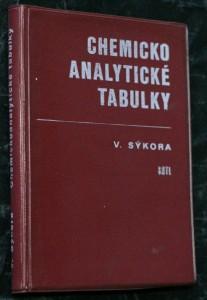 náhled knihy - Chemickoanalytické tabulky : Určeno [též] stud. prům. a vys. škol chemických