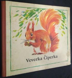 náhled knihy - Veverka Čiperka