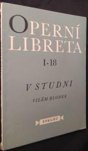 náhled knihy - V studni : Jednoaktová opera na text Karla Sabiny