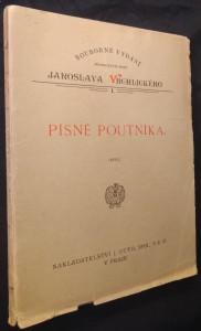 náhled knihy - Písně poutníka : básně Jaroslava Vrchlického : (1895