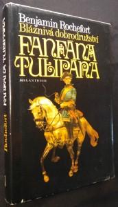 náhled knihy - Bláznivá dobrodružství Fanfána Tulipána