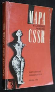 náhled knihy - Mapa kulturních památek ČSSR : [měřítko 1:500000