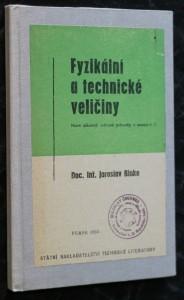náhled knihy - Fyzikální a technické veličiny : Nové zákonné měrové jednotky v soustavě SI