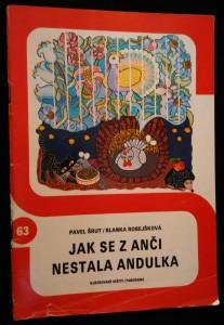 náhled knihy - Jak se z Anči stala Andulka. Ilustrované sešity