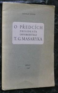 náhled knihy - O předcích presidenta Osvoboditele T.G. Masaryka