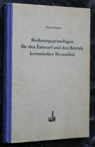 náhled knihy - Rechnungsgrundlagen für den entwurf und den betrieb keramischer brennöfen