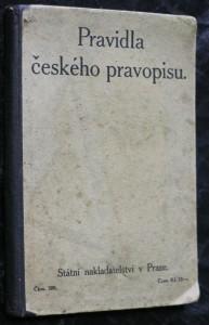 náhled knihy - Pravidla českého pravopisu s abecedním seznamem slov a tvarů : jediné ministerstvem školství a národní osvěty schválené vydán�