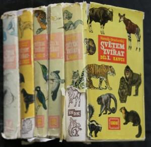 náhled knihy - Světem zvířat díl I, II 1., II 2., III, IV.
