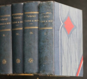náhled knihy - Vojna a mír, 4 svazky