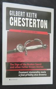 náhled knihy - The sign of the broken sword and other Father Brown stories = Znamení zlomeného meče a jiné příběhy otce Browna (dvojjazyčná literatura)