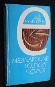 náhled knihy - Mezinárodně politický slovník