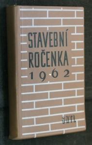 náhled knihy - Stavební ročenka 1962