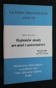 náhled knihy - Hygienické zásady pro práci v potravinářství