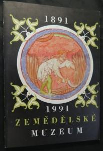 náhled knihy - Zemědělské muzeum 1891 - 1991
