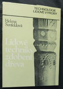 náhled knihy - Lidové techniky zdobení dřeva
