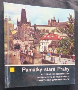 náhled knihy - Památky staré Prahy