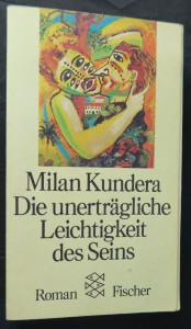 náhled knihy - Die unerträgliche Leichtigkeit des Seins