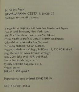 antikvární kniha Nevyšlapaná cesta nekončí, 2001