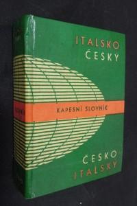 náhled knihy - Italsko-český a česko-italský kapesní slovník