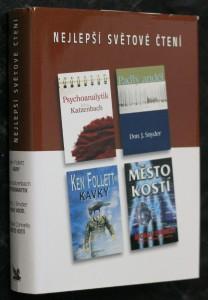 náhled knihy - Psychoanalytik, Padlý anděl, Kavky, Město kostí