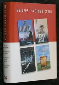 náhled knihy - Bez slitování, Kdo jsi, Černý led, Víc než táta