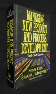 náhled knihy - Managing New Product And Process Development : Text and Cases
