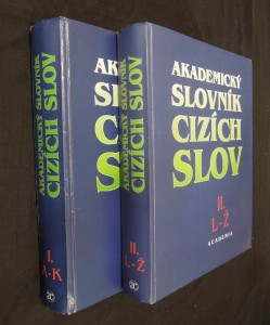 náhled knihy - Akademický slovník cizích slov I. - II. (A-Ž)