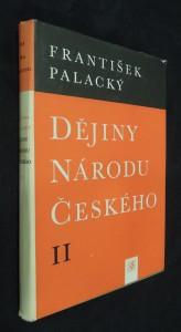 náhled knihy - Dějiny národu českého II