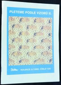 náhled knihy - pleteme podle vzorů II. Kolekce 2/1989. Č. 152