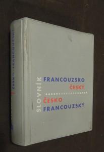náhled knihy - Slovník Francouzsko-český, slovník Česko-francouzský