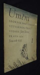 náhled knihy - Umění : sborník pro českou výtvarnou práci (svazek VIII)