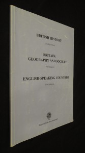 náhled knihy - British History, Britain : Geography and Society, English-speaking Countries