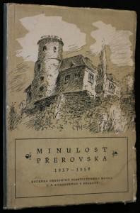 náhled knihy - Minulost Přerovska 1957-1958, ročenka okresního vlastivědného muzea J. Á. Komenského v Přerově