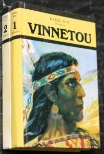 náhled knihy - Vinnetou 1.-2. díl