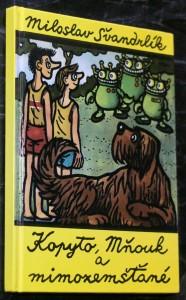 náhled knihy - Kopyto, Mňouk a mimozemšťané