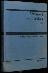 náhled knihy - Betonové konstrukce I. díl