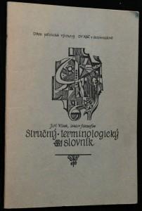 náhled knihy - Stručný terminologický slovník